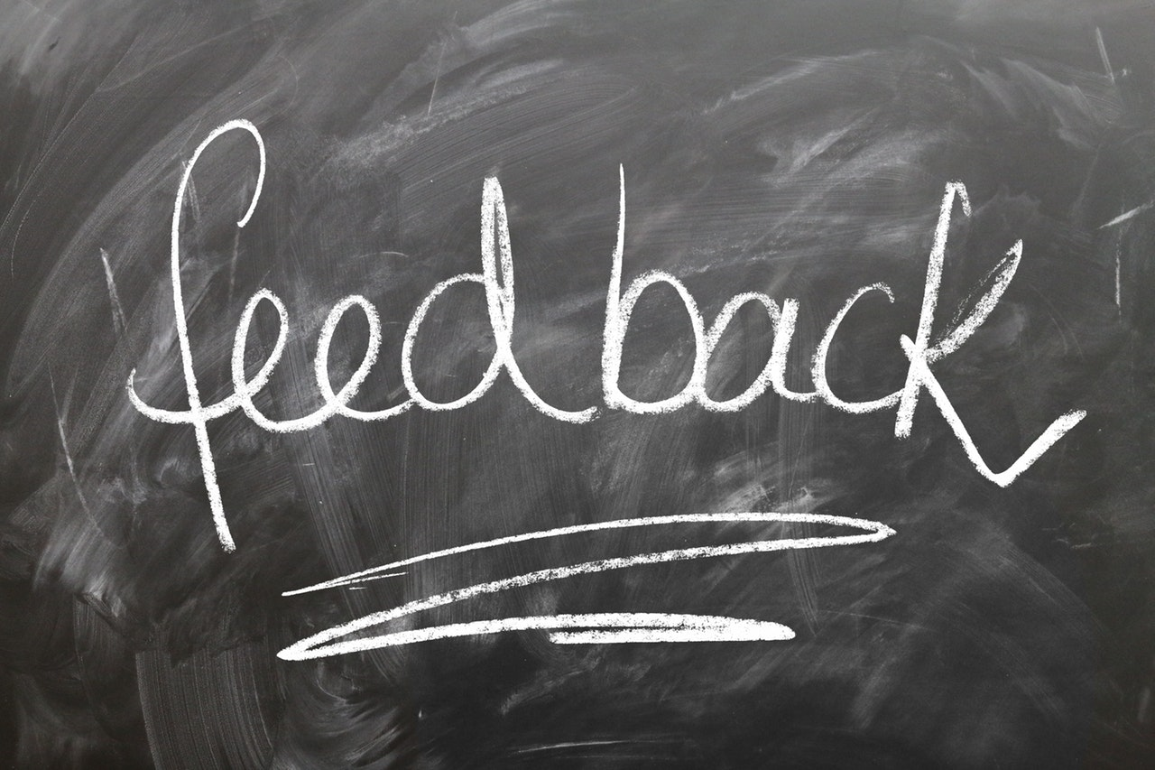Get feedback